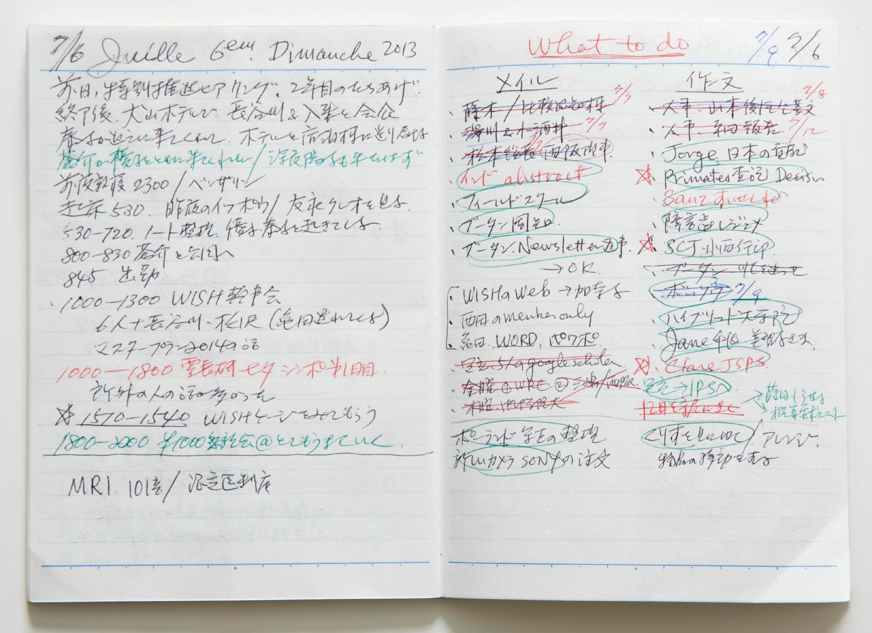 夏休み 夏休み自由 : 第5号 「人生の俯瞰図を描く人 ...