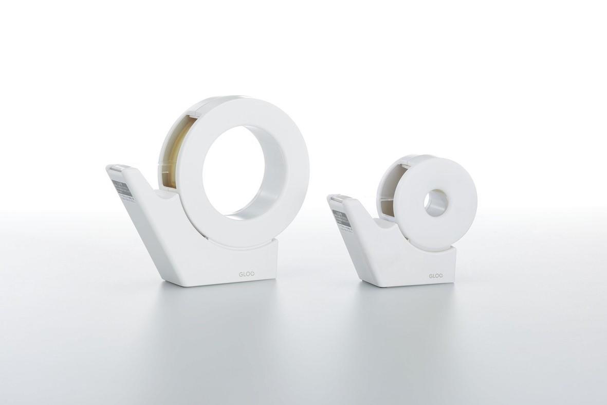 GLOO テープカッター(吸盤ハンディタイプ・大巻き)との比較イメージ